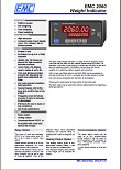 EMC 2060 Weight Indicator Brochure